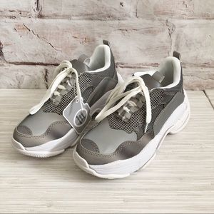 Jeffrey Campbell Lo-Fi Reflective sneakers NWOB